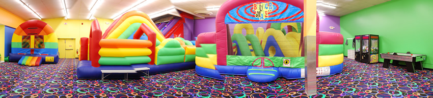 The Inflatable Fun Factory Kids parties, Bear Building and Dance parties