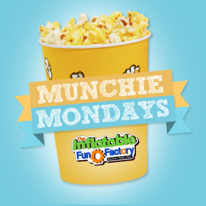 Munchie Monday! @ The Inflatable Fun Factory
